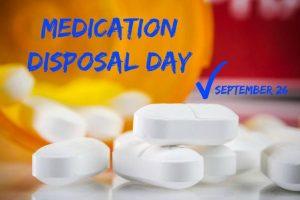 medication disposal day 2015