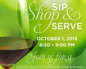 shop and serve