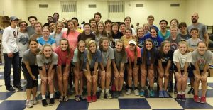 43 Liberty Christian students students served at Mission Arlington.