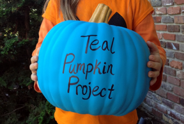 Trick-or-treaters with food allergies will be looking for teal pumpkins