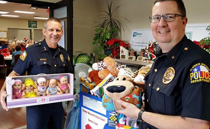 FMPD seeking donations for annual Santa Cops program