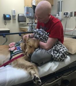 Argyle High School student Hunter Oney is suffering from Non-Hodgkin's Lymphoblastic Lymphoma.