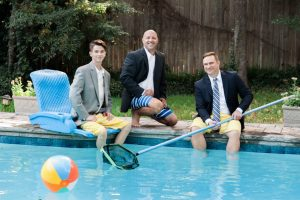 Bruin Korr, Scott Reddin and Travis Klein are ready to dive into a new venture.