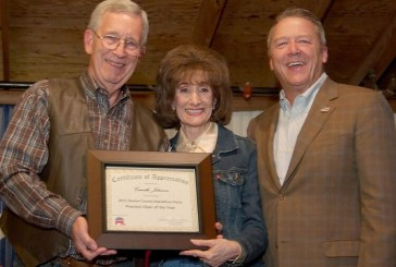 Denton County Republican volunteers honored