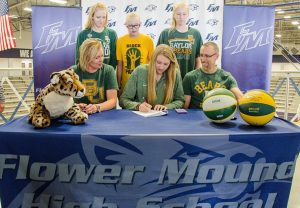 Flower Mound High School Girls Basketball standout Lauren Cox commits to Baylor University.