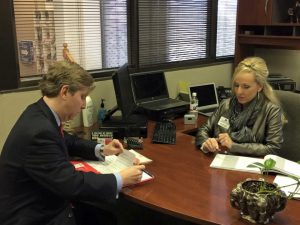 State Representative Tan Parker filed for re-election on Saturday.