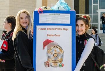 Santa Cops spread holiday cheer