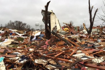 Town collecting gift cards for tornado victims