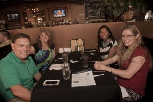 Argyle Chamber members enjoy networking. (Photo by Helen's Photography)