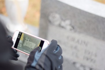 Teens use technology to document graves