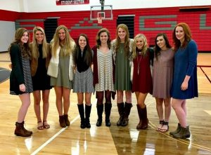 Argyle Lady Eagles basketball team.