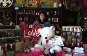 Extravaganza owner Dana Bondar will help you pick out the perfect gift for your Valentine.