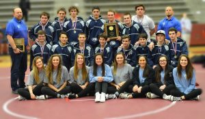 The Flower Mound High School boy's wrestling program won their 10th consecutive district title on Feb. 6.