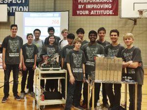 Flower Mound High School's Robotics Team.