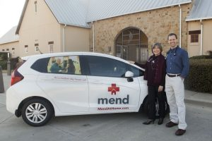 Kelly Fox and Ken Dakin are rolling into southern Denton County with an improved way to deliver wellness. (Photo by Helen's Photography)