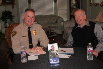 Weir: Sheriff Travis running for re-election