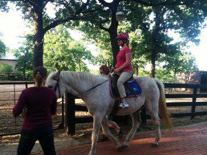 SpiritHorse Therapeutic Riding Center in Corinth.