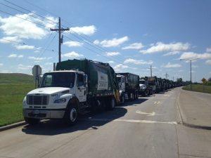 WM trucks wait 5-15