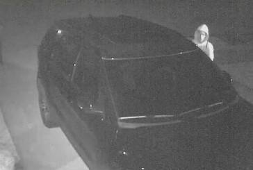 Suspect sought in string of car burglaries