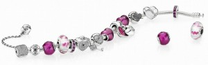 Pandora's Valentine's collection of charms at NASR Bros Jewelry.