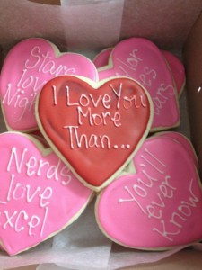 Get sweet deals for your sweetheart at The Flour Shop Bakery.