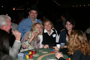 western saloon night