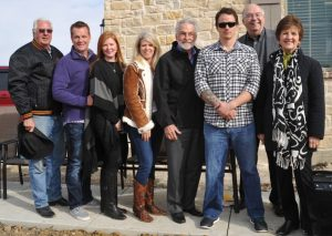 From left: Dick Armey, Michael Cannaday (Precision Builders), Valerie Cannaday, Sheri Martin (Sheri Martin Interiors), Richard Filip (Founder, Texas Sentinels Foundation, Sgt. Erich Ellis, Mark Wolfe (President, RE/MAX DFW Associates), Kay Wolfe (Vice President, RE/MAX DFW Associates)