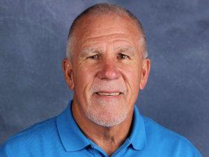 Liberty Christian girls basketball coach Ken Burroughs.