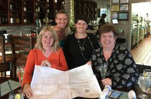 Stacy Smith, Linda Norman, Kelley Curci and Michele Langenberg.