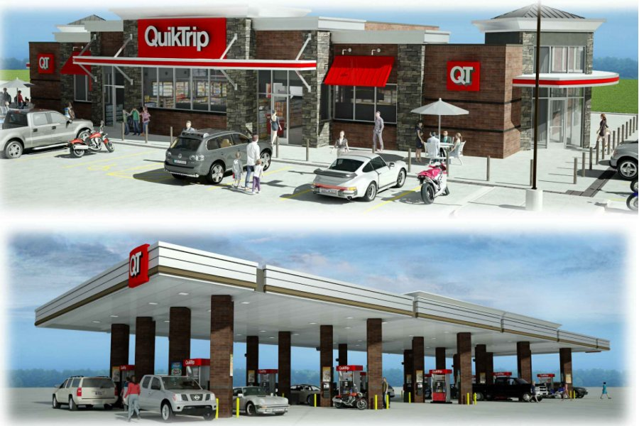 Flower Mound P&Z approves Hawk's Hill QT gas station - Cross Timbers