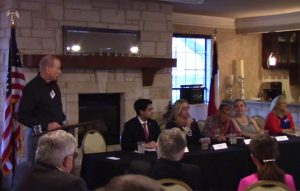 Lewisville ISD candidates at the Flower Mound Area Republican Club Candidate Forum on March 15, 2016.