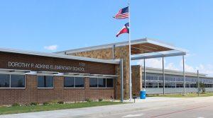 Adkins Elementary School in Lantana.