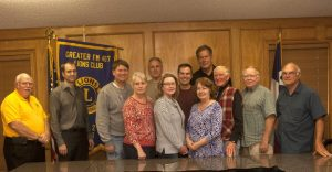 Members of the new Greater FM 407 Lions Club. (Photo by Helen's Photography)