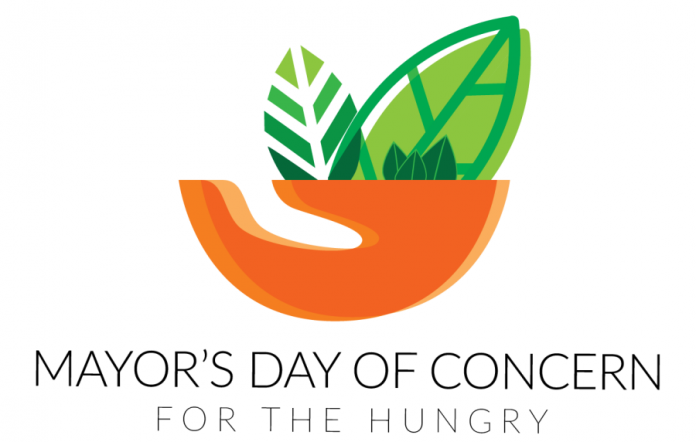 Mayor's Day of Concern logo