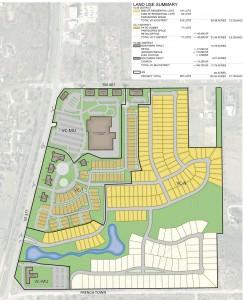 Waterbrook proposed development plan.