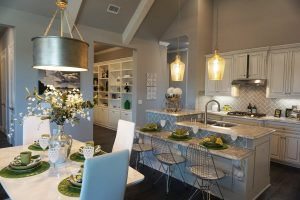 Grenadier Homes - Orchard Flower model home - kitchen