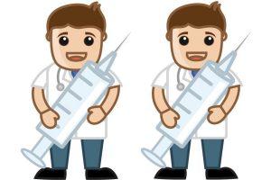 doctor needle graphic