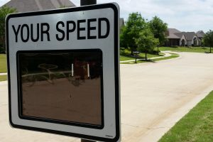 portable speed feedback sign lantana