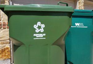 republic vs waste management trash cans