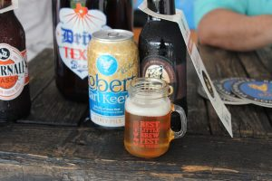 A wide variety of beers were available for sampling at the 2015 Best Little Brewfest in Texas. (The Lewisville Texan Journal)