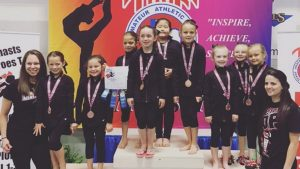 Excite Gymnastics 2016 Texas State Competition