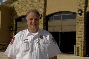 Argyle Fire Chief Mac Hohenberger