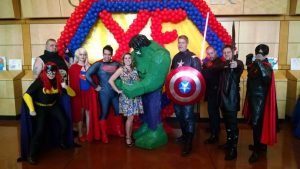 Youth and Family Counseling superhero soiree