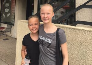 Rosie (left) and Ivy Adams are excelling in the world of ballet.
