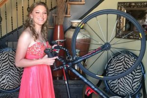 Flower Mound's Payten Maness landed a professional cycling contract.