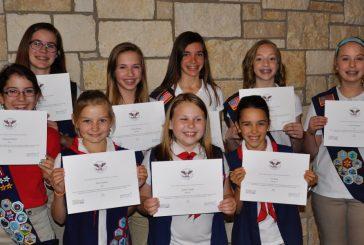 American Heritage Girls earn honors