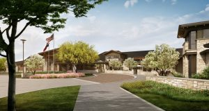 Avanti Senior Living at Flower Mound rendering.