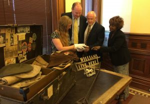 The Denton County Commissioners Court formally accepted the return of several thousand artifacts, documents, photographs and books that were previously held by the Collin County Historical Museum in McKinney.