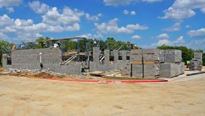 Flower Mound's temporary Fire Station 6, and future Western Operation & Maintenance facility.