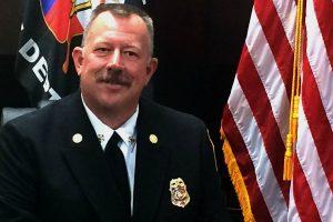 Highland Village Fire Chief Brad Goudie